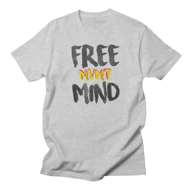 Freemind White BG Men's T-Shirt by FreemindMVMT Merch