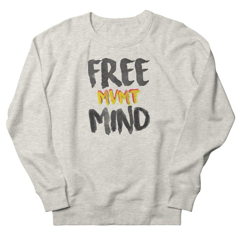 Freemind White BG Women's French Terry Sweatshirt by FreemindMVMT Merch