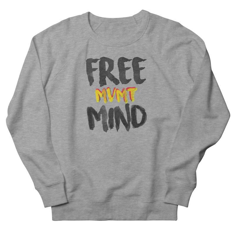 Freemind White BG Men's French Terry Sweatshirt by FreemindMVMT Merch