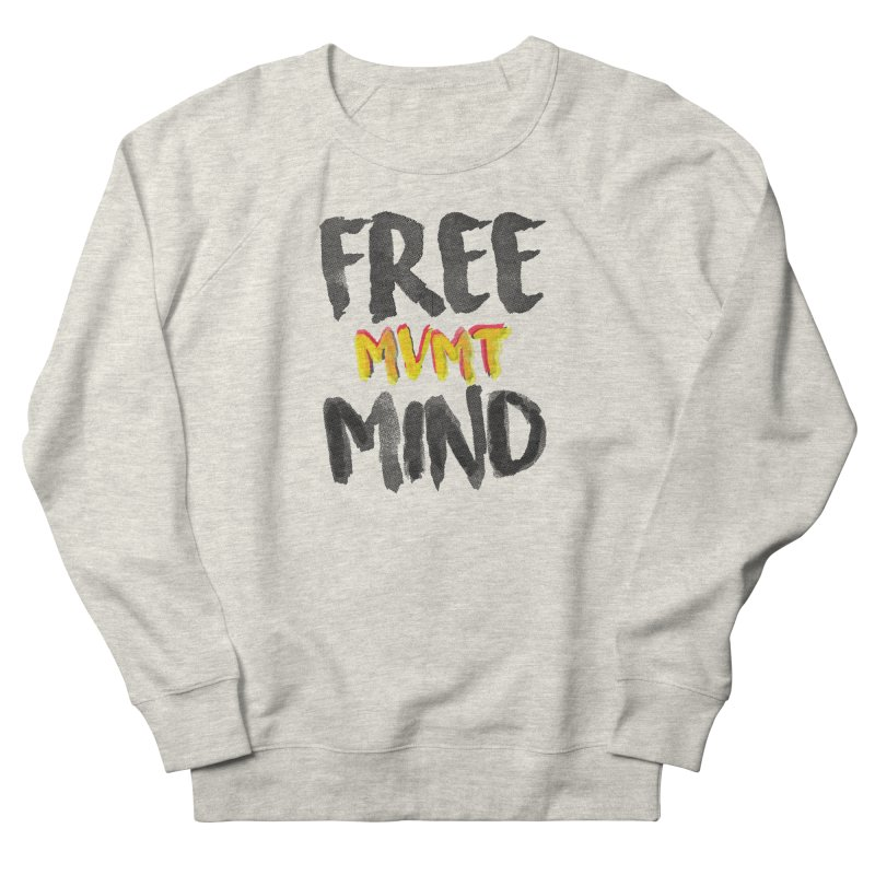 Freemind White BG Men's Sweatshirt by FreemindMVMT Merch