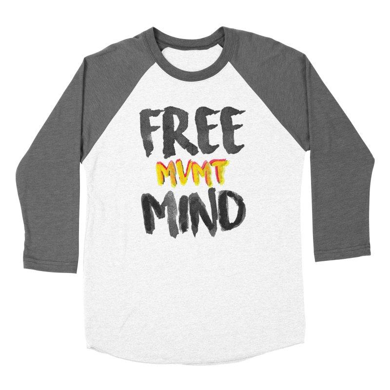 Freemind White BG Women's Baseball Triblend Longsleeve T-Shirt by FreemindMVMT Merch