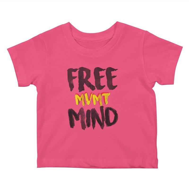 Freemind White BG Kids Baby T-Shirt by FreemindMVMT Merch