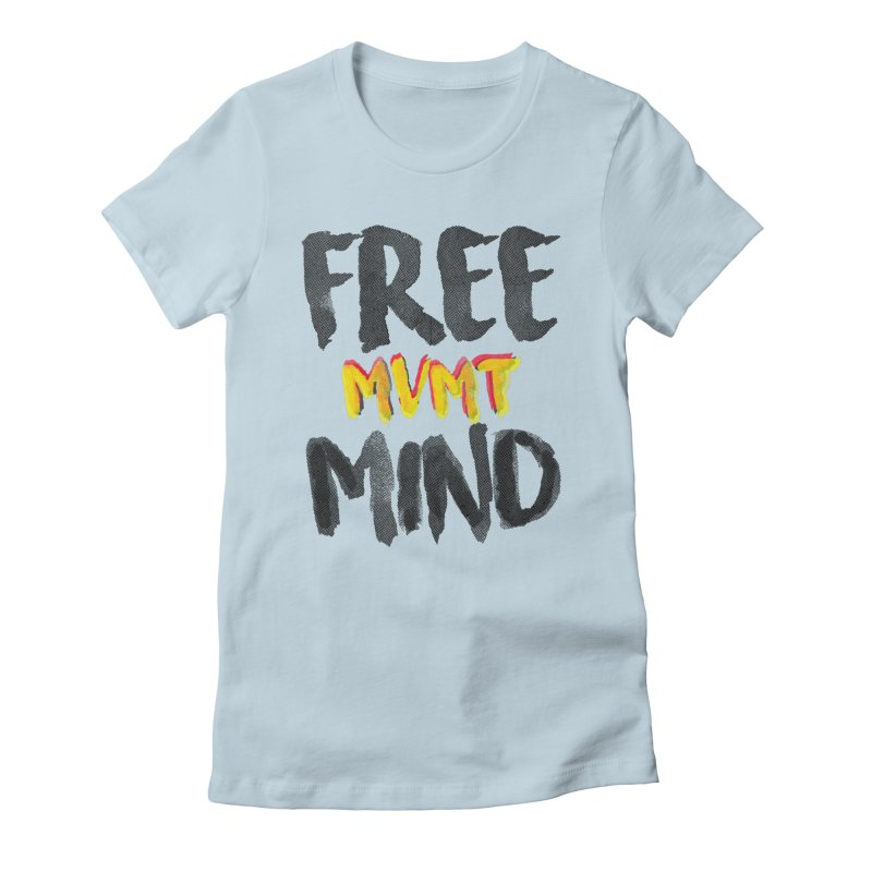 Freemind White BG Women's T-Shirt by FreemindMVMT Merch