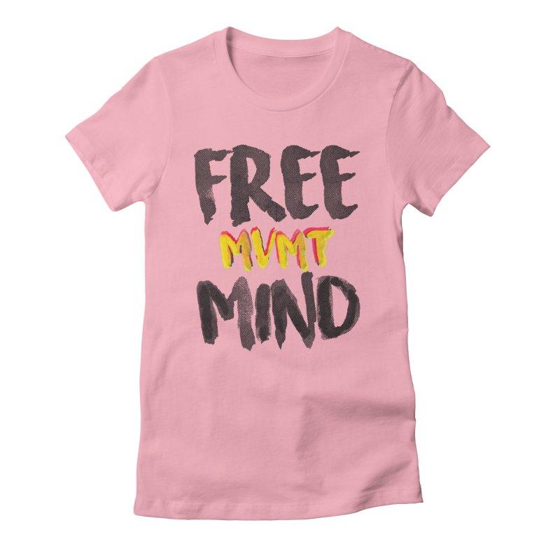 Freemind White BG Women's T-Shirt by FreemindMVMT Merch