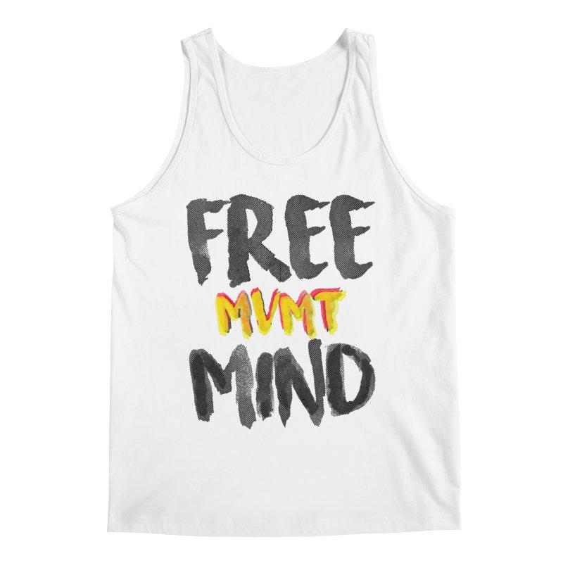 Freemind White BG Men's Regular Tank by FreemindMVMT Merch
