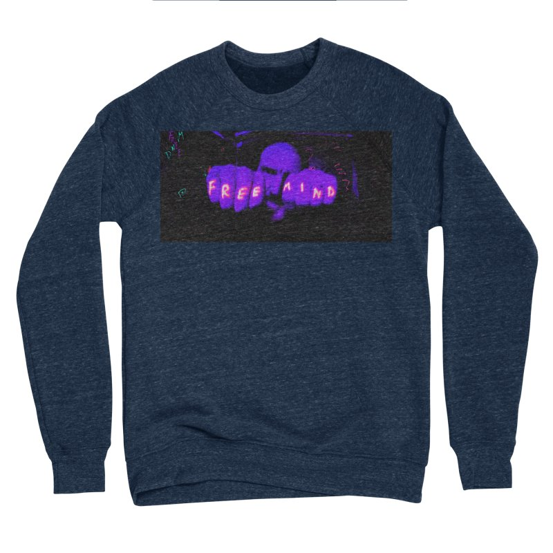 Knuckles Men's Sponge Fleece Sweatshirt by FreemindMVMT Merch