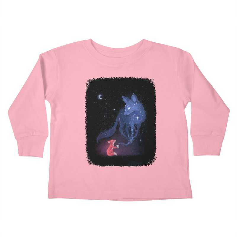 Celestial Kids Toddler Longsleeve T-Shirt by Freeminds