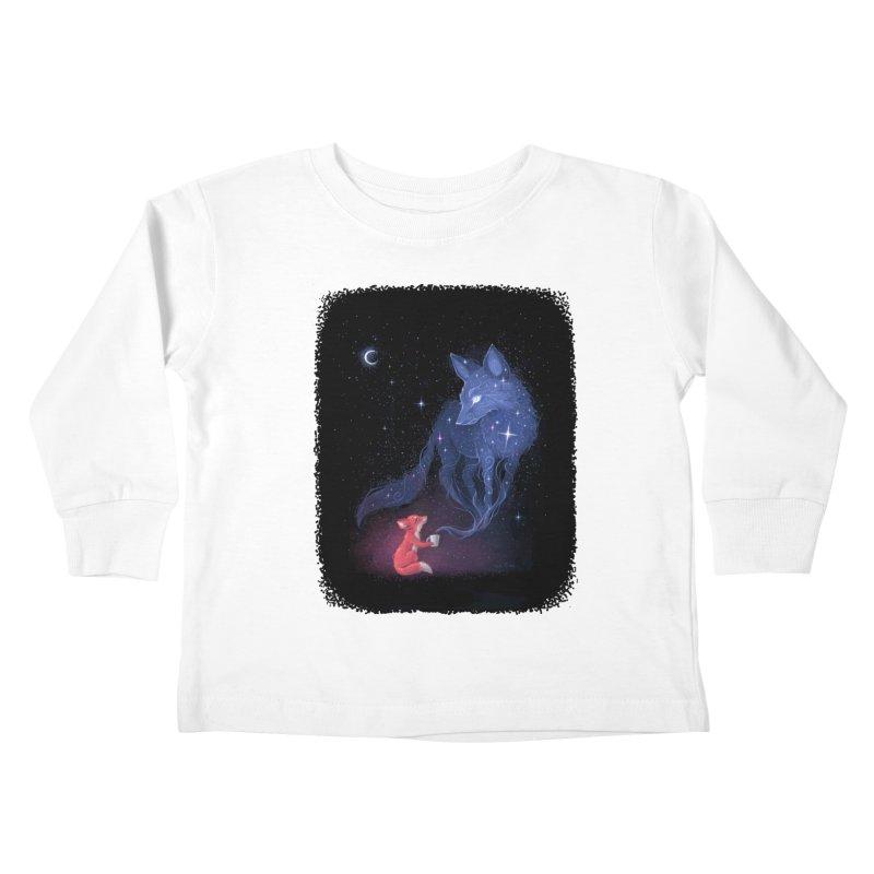 Celestial Kids Toddler Longsleeve T-Shirt by Freeminds