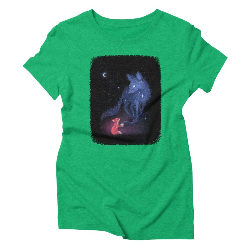 Celestial Women's Triblend T-shirt by Freeminds