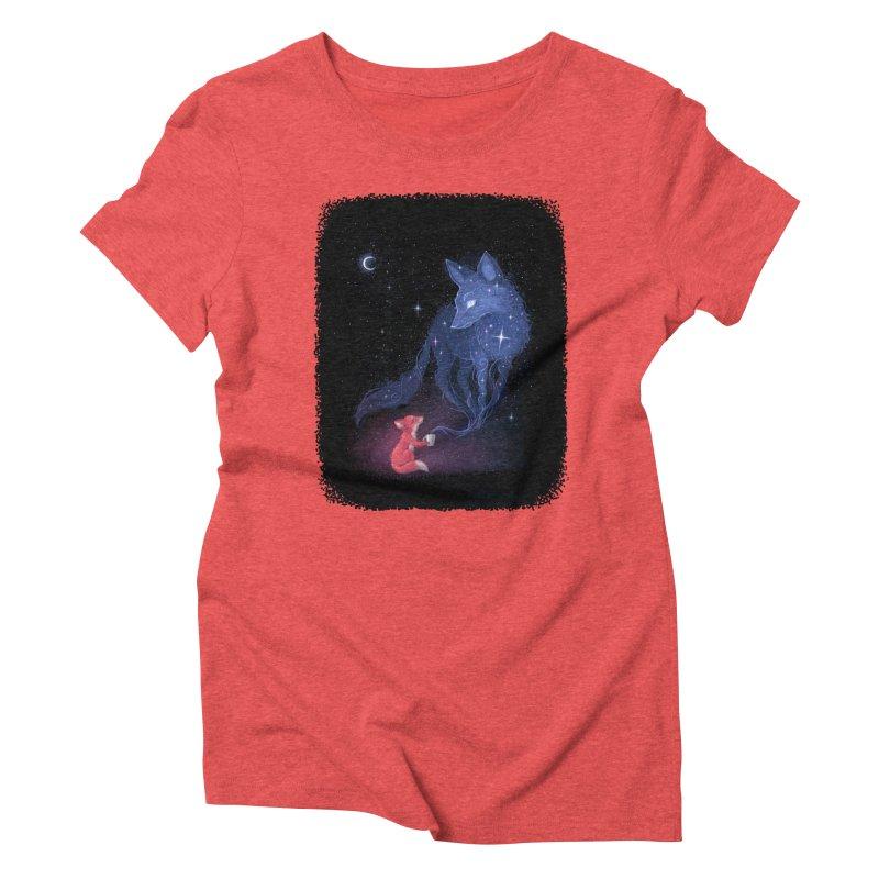 Celestial Women's Triblend T-shirt by Freeminds