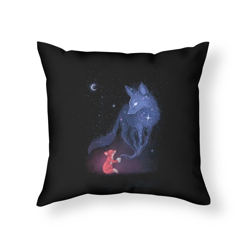Celestial Home Throw Pillow by Freeminds
