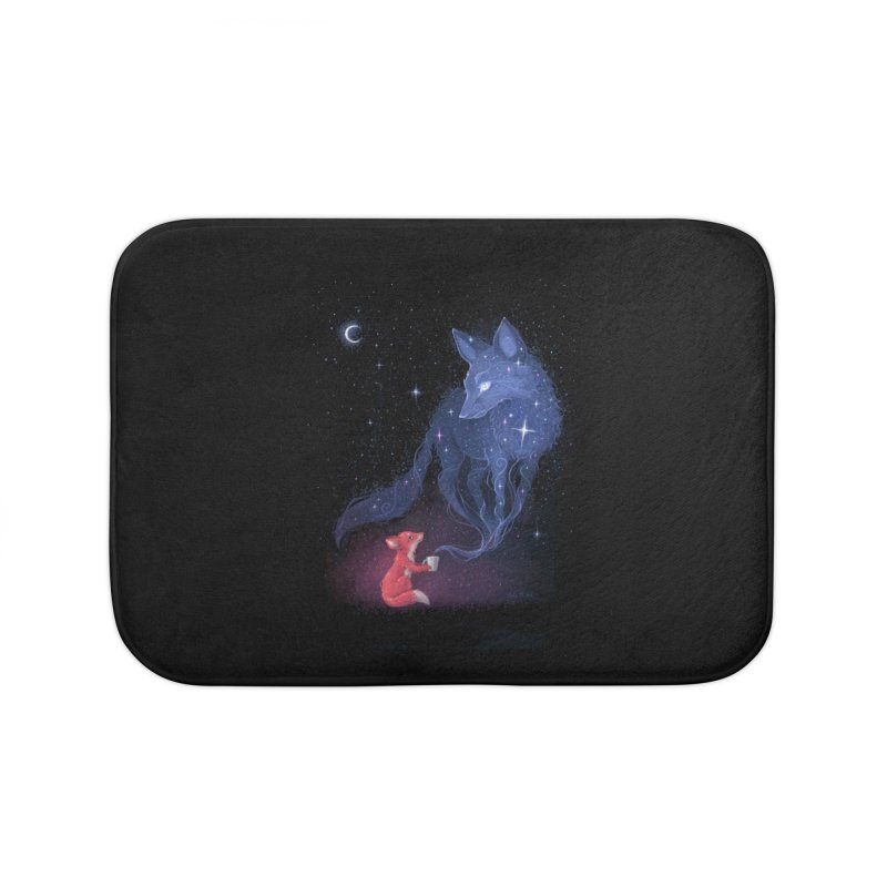 Celestial Home Bath Mat by Freeminds