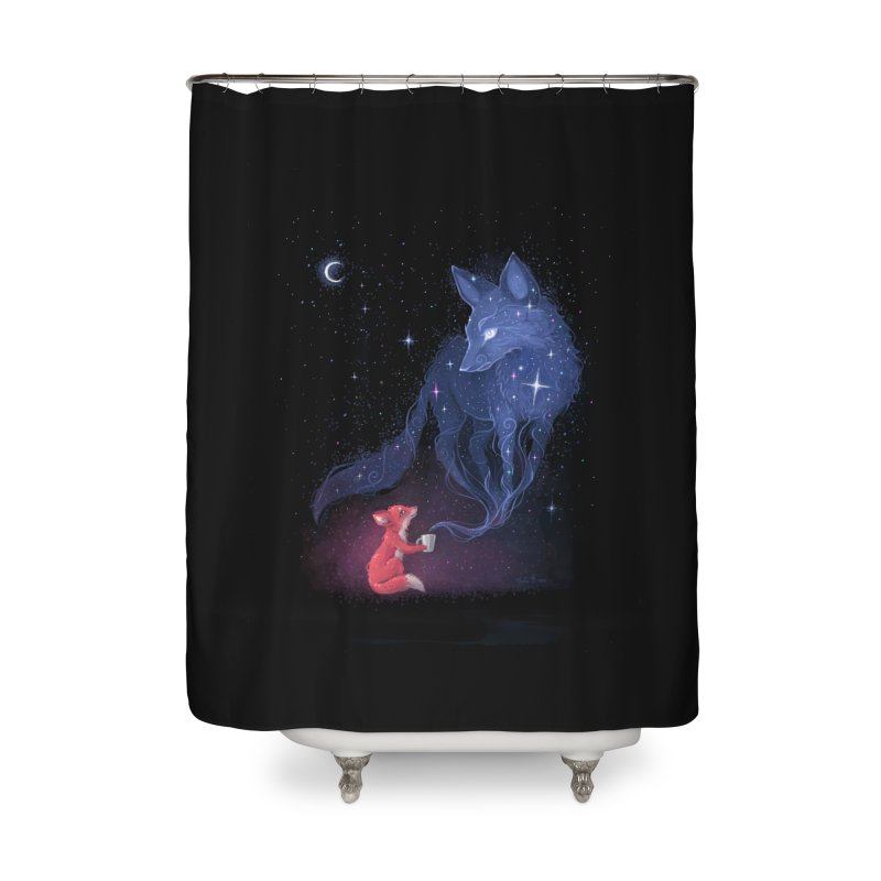 Celestial Home Shower Curtain by Freeminds