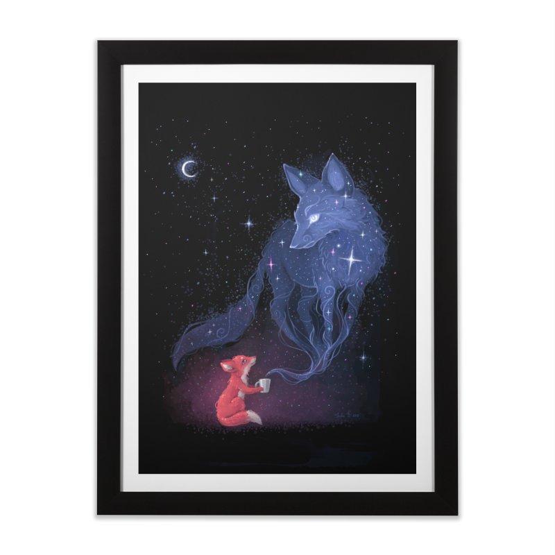 Celestial Home Framed Fine Art Print by Freeminds