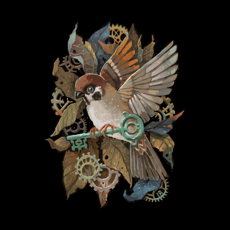 Clockwork Sparrow   by Freeminds's Artist Shop