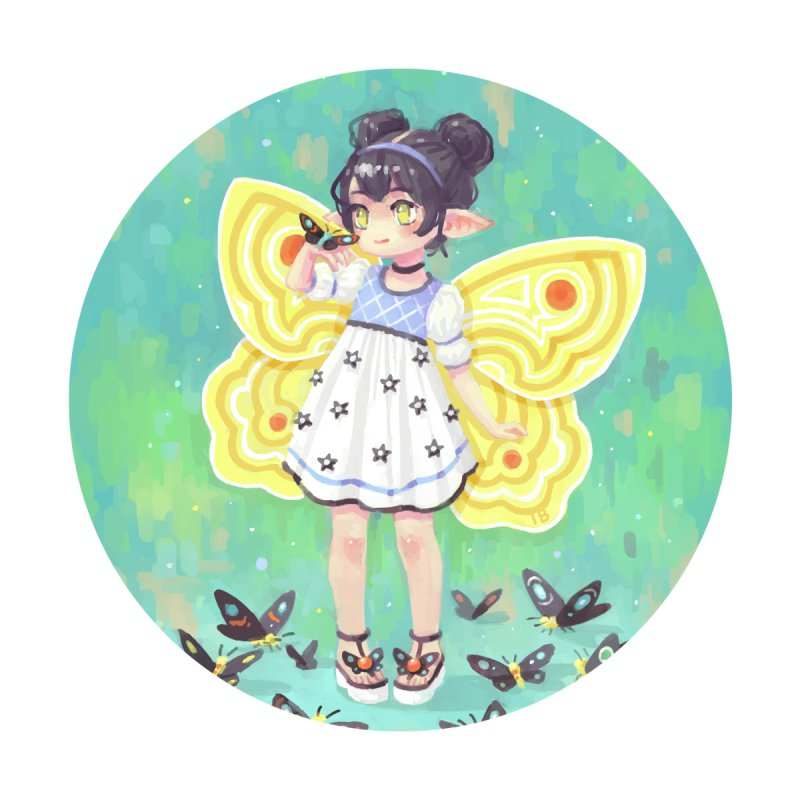 Butterfly Girl   by Freeminds's Artist Shop