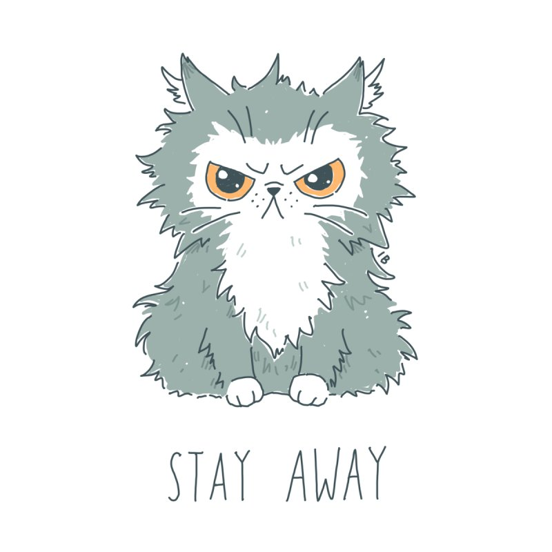 Stay Away   by Freeminds's Artist Shop