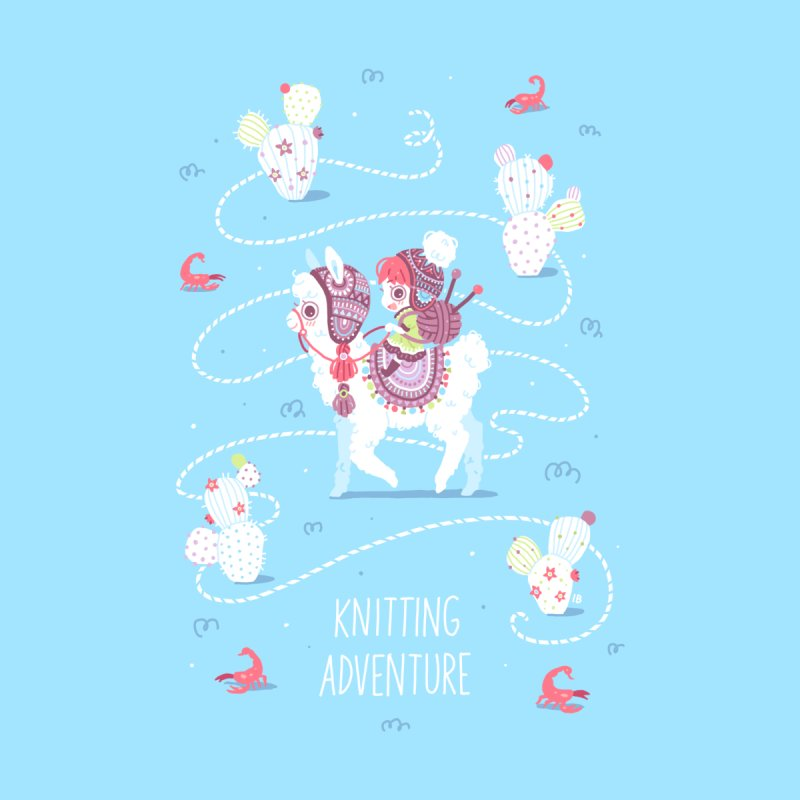 Knitting Adventure   by Freeminds's Artist Shop