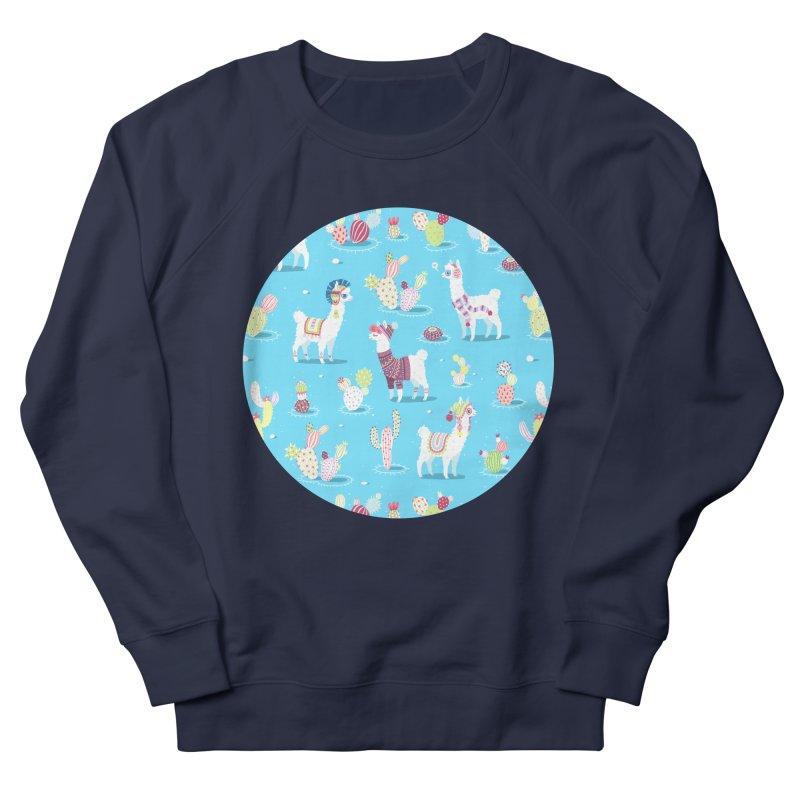 Alpaca Pattern Women's Sweatshirt by Freeminds's Artist Shop