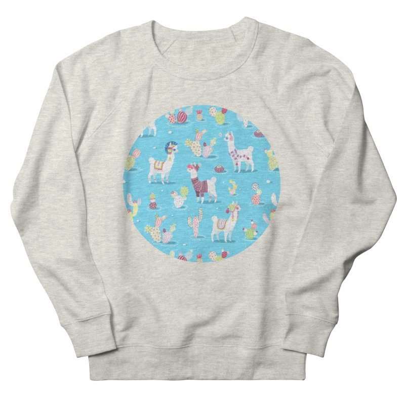 Alpaca Pattern Men's Sweatshirt by Freeminds's Artist Shop