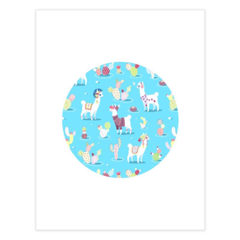 Alpaca Pattern   by Freeminds's Artist Shop