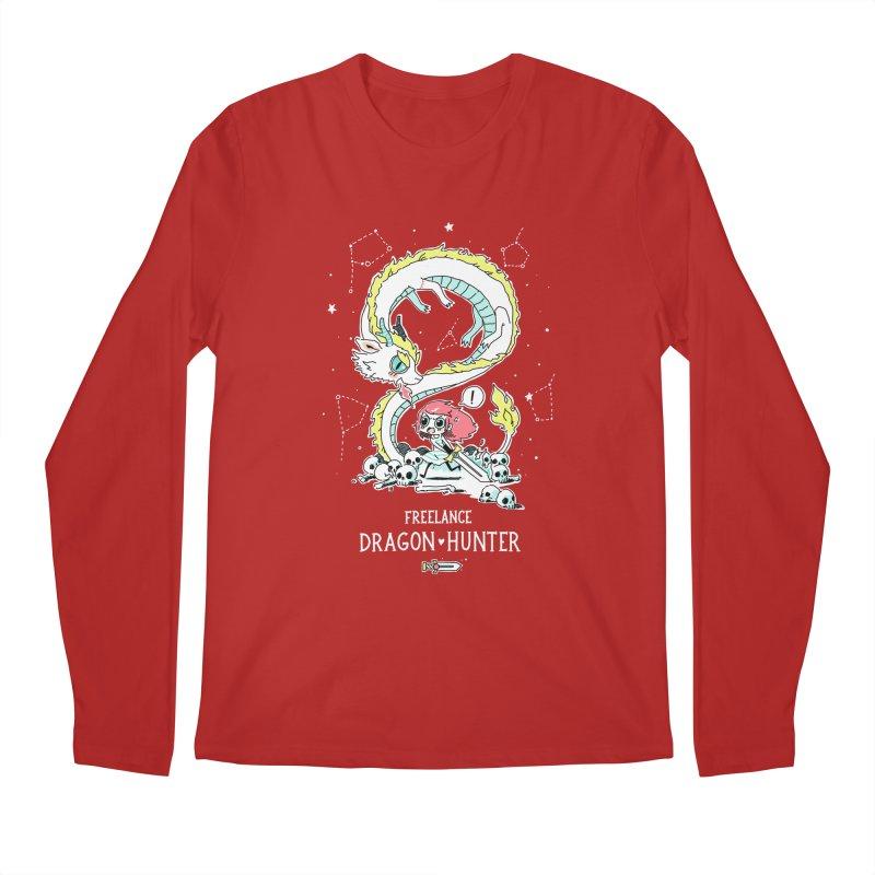 Dragon Hunter Men's Longsleeve T-Shirt by Freeminds's Artist Shop