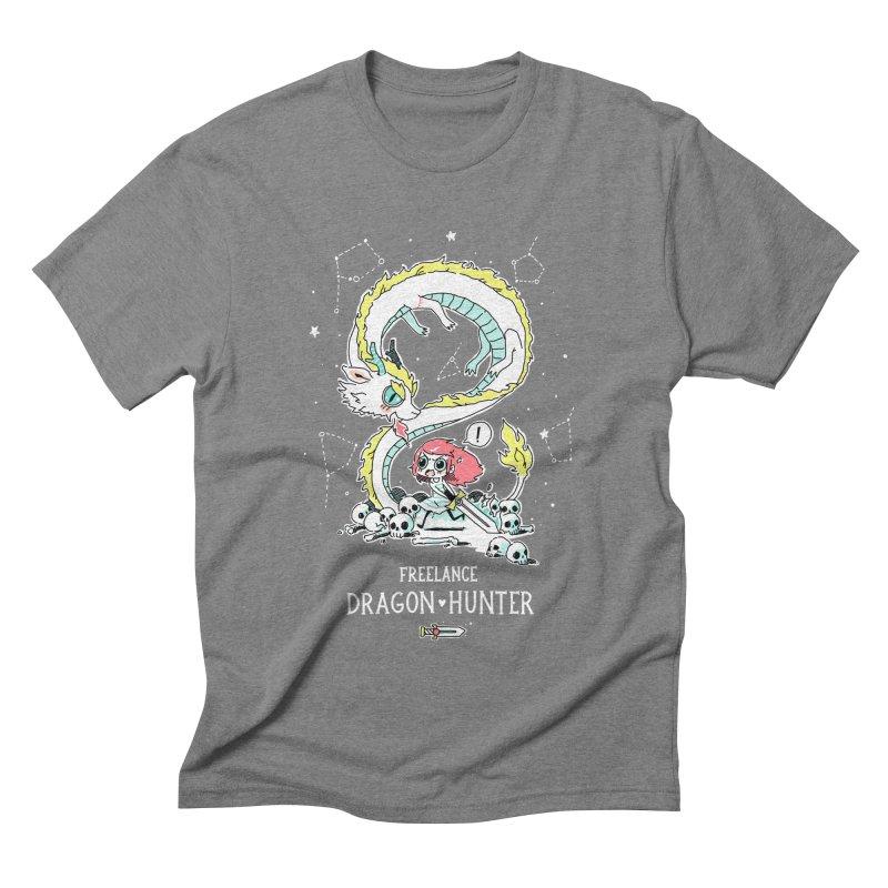 Dragon Hunter Men's Triblend T-shirt by Freeminds's Artist Shop