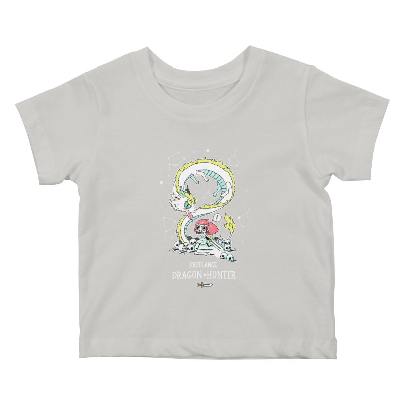 Dragon Hunter Kids Baby T-Shirt by Freeminds's Artist Shop