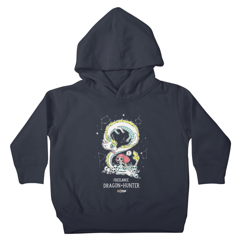 Dragon Hunter Kids Toddler Pullover Hoody by Freeminds's Artist Shop