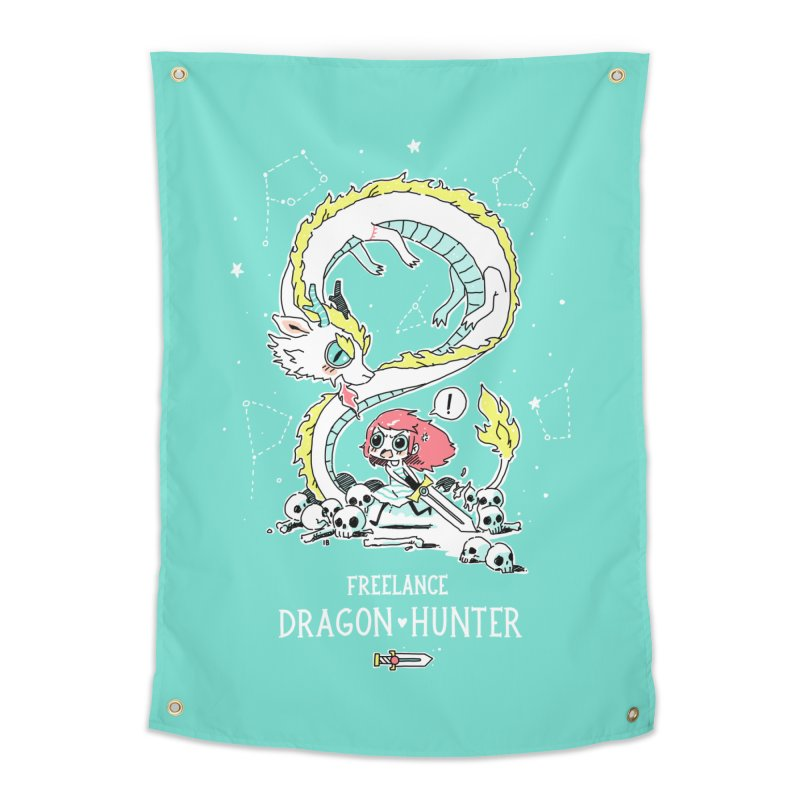 Dragon Hunter Home Tapestry by Freeminds's Artist Shop