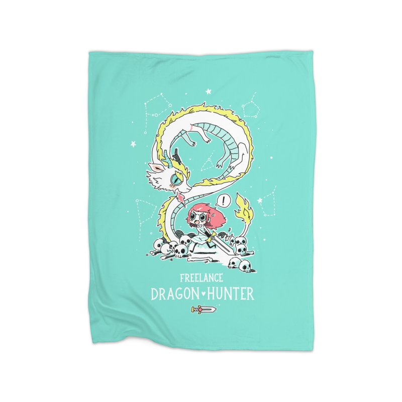 Dragon Hunter Home Blanket by Freeminds's Artist Shop