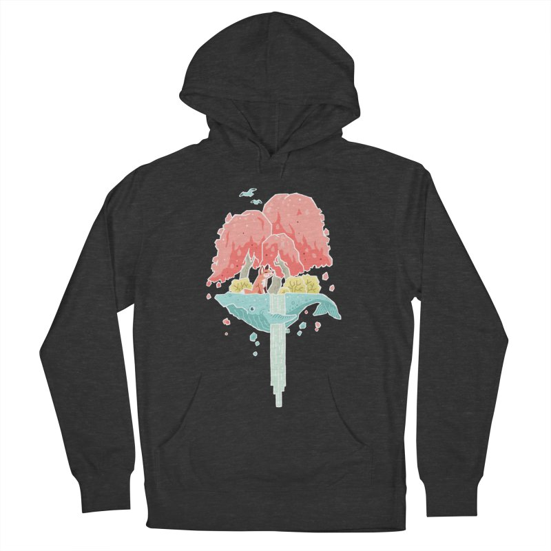 Whale Island Men's Pullover Hoody by Freeminds's Artist Shop