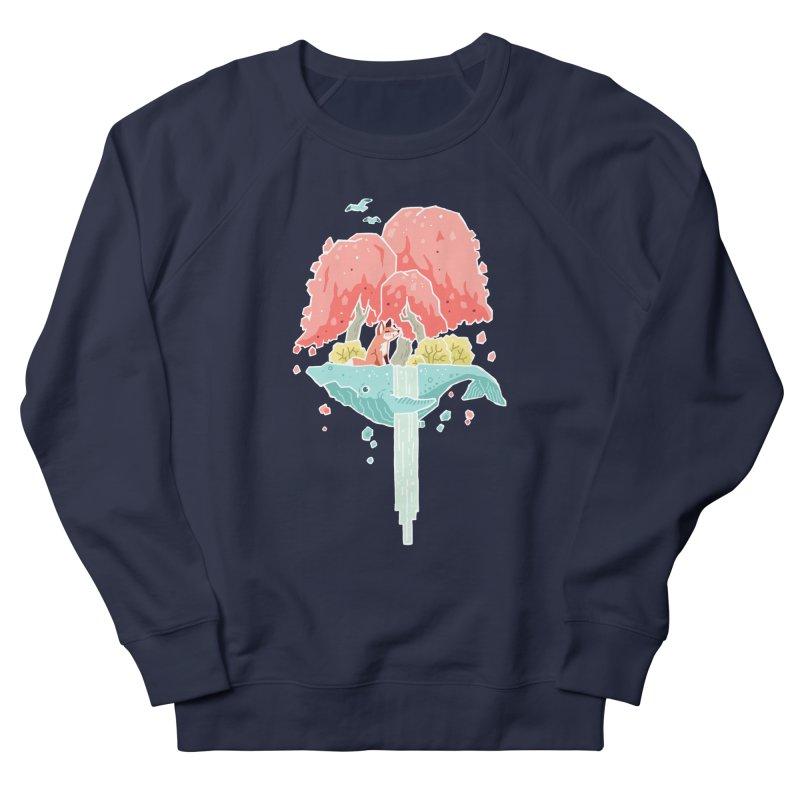 Whale Island Men's Sweatshirt by Freeminds's Artist Shop