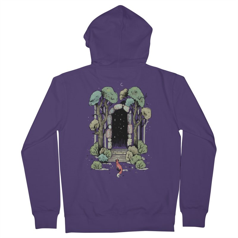 Forest Gate Women's Zip-Up Hoody by Freeminds's Artist Shop