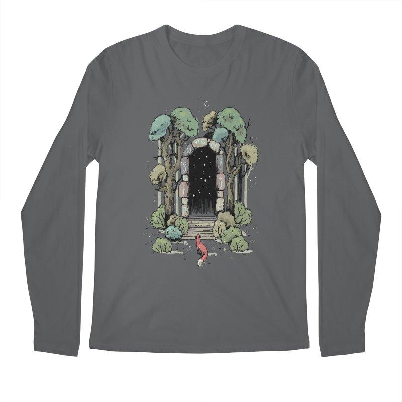 Forest Gate Men's Longsleeve T-Shirt by Freeminds's Artist Shop