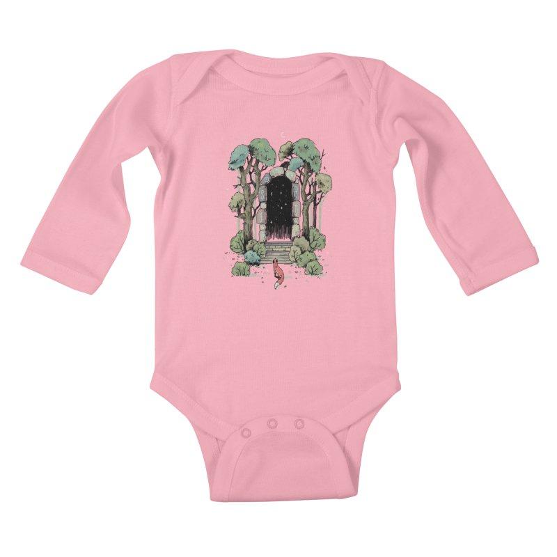 Forest Gate Kids Baby Longsleeve Bodysuit by Freeminds's Artist Shop