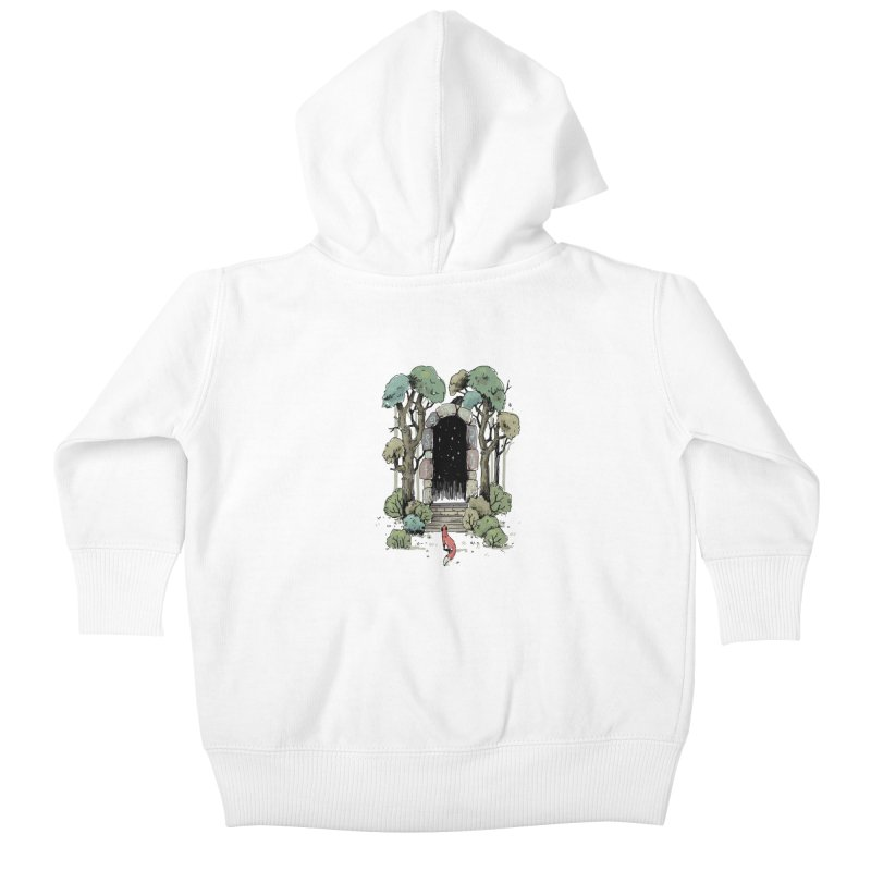 Forest Gate Kids Baby Zip-Up Hoody by Freeminds's Artist Shop