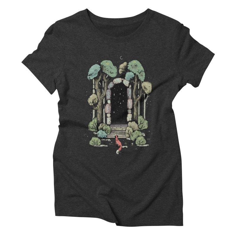 Forest Gate Women's Triblend T-shirt by Freeminds's Artist Shop
