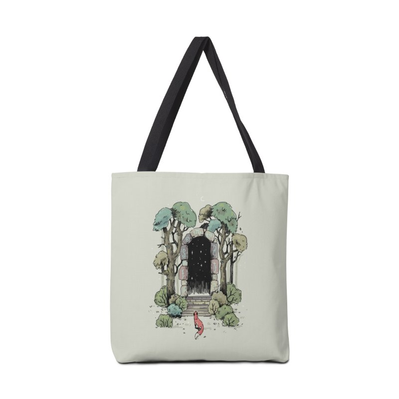 Forest Gate Accessories Bag by Freeminds's Artist Shop
