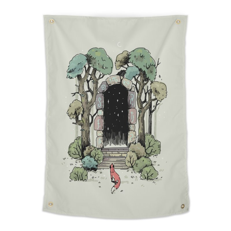 Forest Gate Home Tapestry by Freeminds's Artist Shop