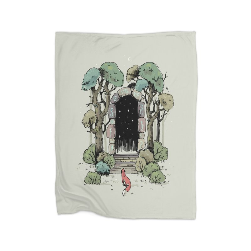Forest Gate Home Blanket by Freeminds's Artist Shop