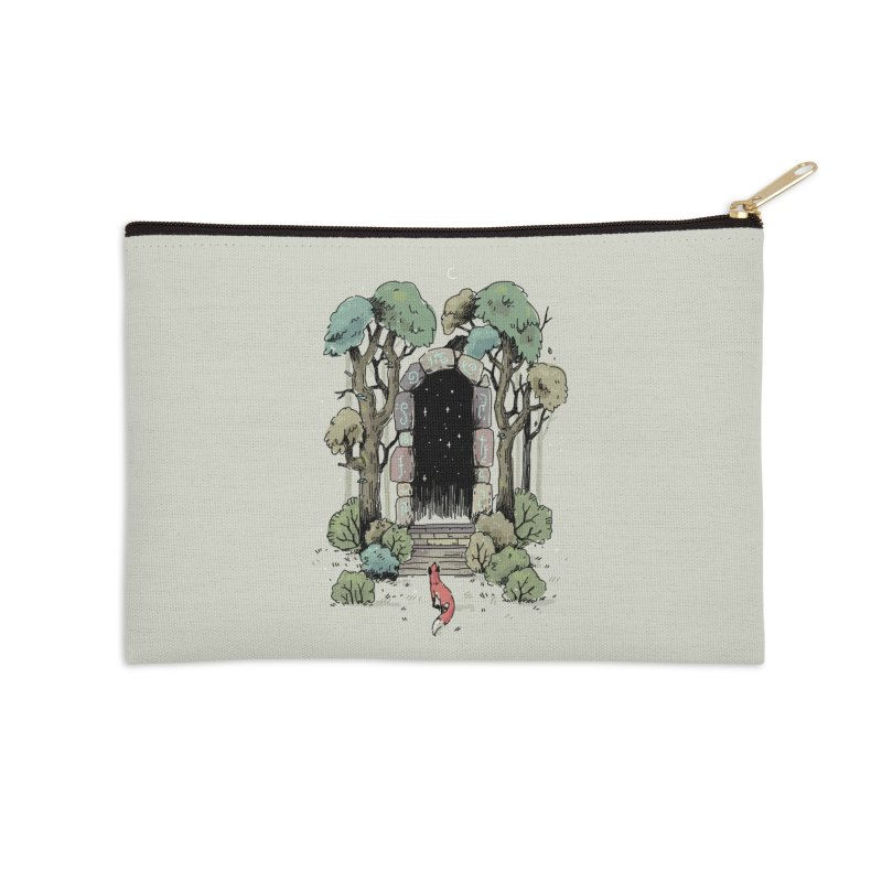 Forest Gate Accessories Zip Pouch by Freeminds's Artist Shop