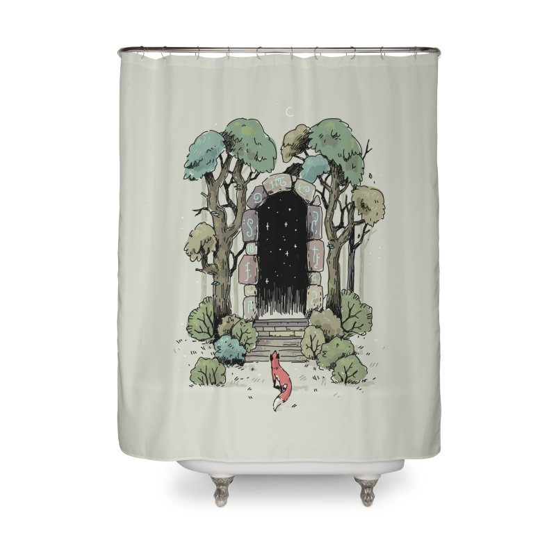 Forest Gate Home Shower Curtain by Freeminds's Artist Shop