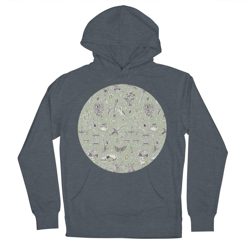 Witchcraft Pattern Men's Pullover Hoody by Freeminds's Artist Shop