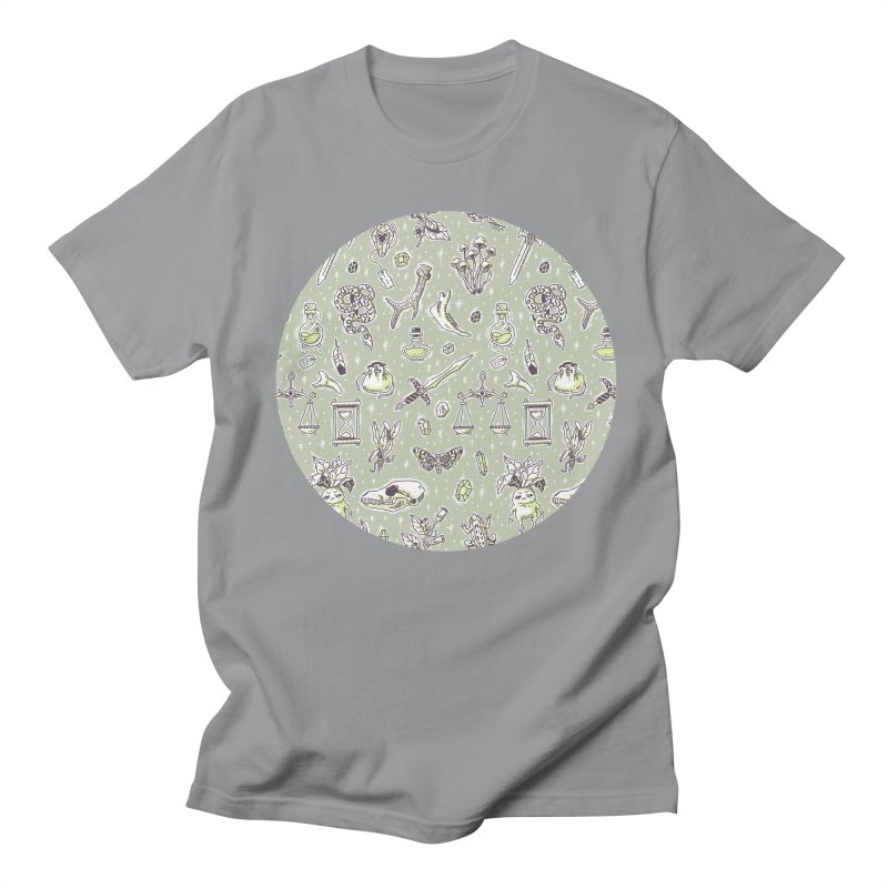 Witchcraft Pattern Men's T-shirt by Freeminds's Artist Shop