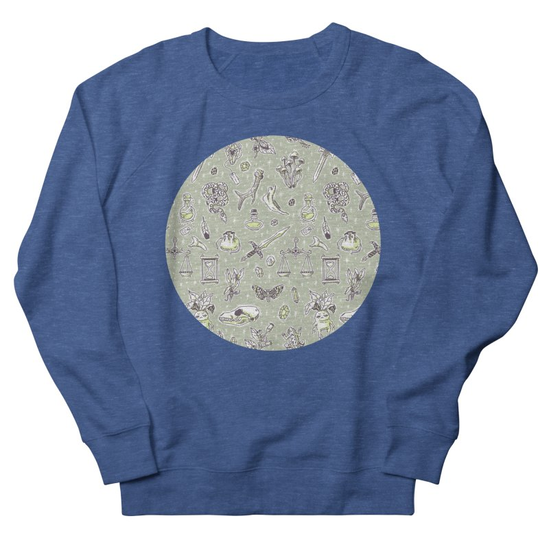 Witchcraft Pattern Men's Sweatshirt by Freeminds's Artist Shop