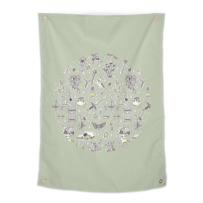 Witchcraft Pattern Home Tapestry by Freeminds's Artist Shop