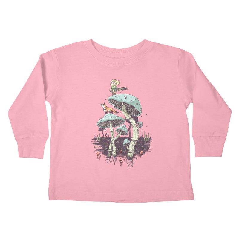 Elven Ranger Kids Toddler Longsleeve T-Shirt by Freeminds's Artist Shop