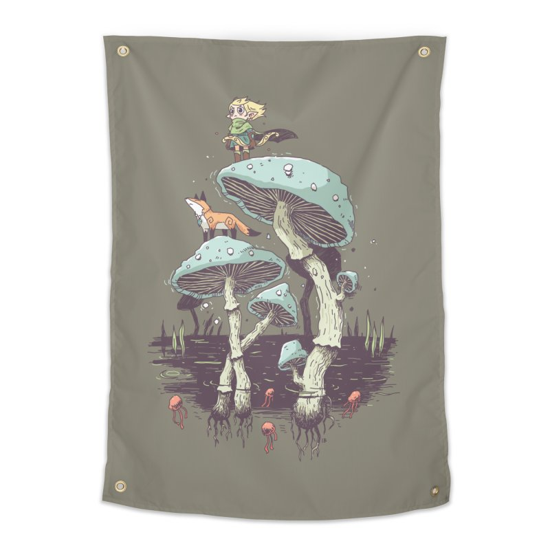 Elven Ranger Home Tapestry by Freeminds's Artist Shop