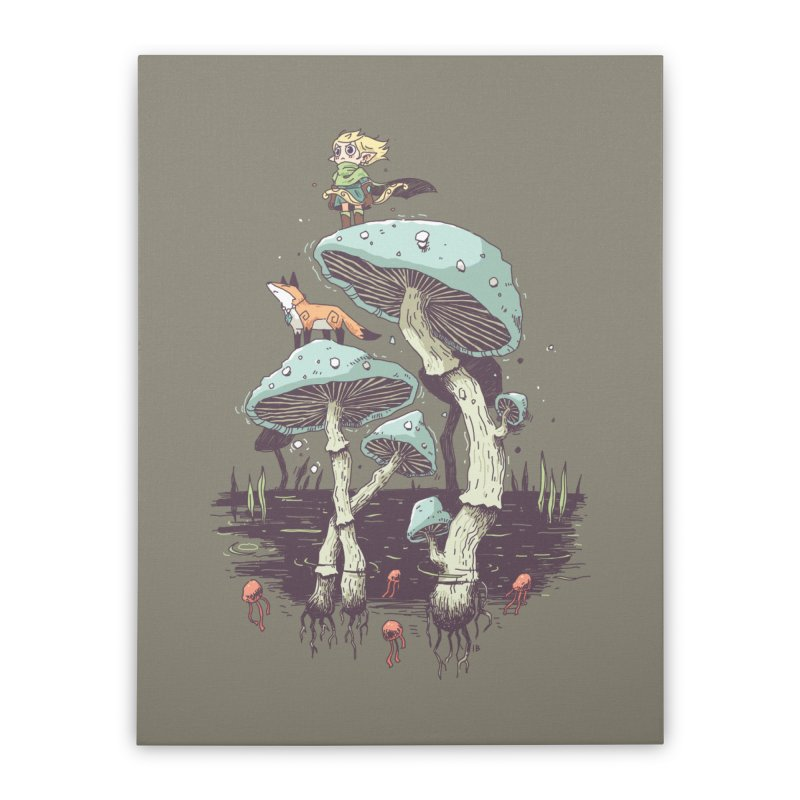 Elven Ranger Home Stretched Canvas by Freeminds's Artist Shop